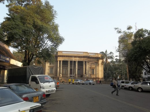 The Macmillan Memorial Library, managed by the City Council of Nairobi