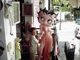 My boy and Betty Boop