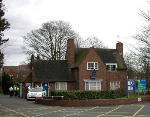 Village Police Station, Kingswinford, Staffordshire. A dying breed.