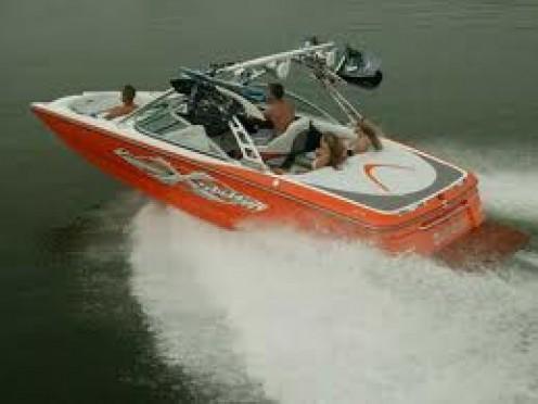 V Drive Boat