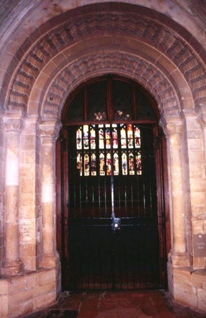 Entrnce to chapter house