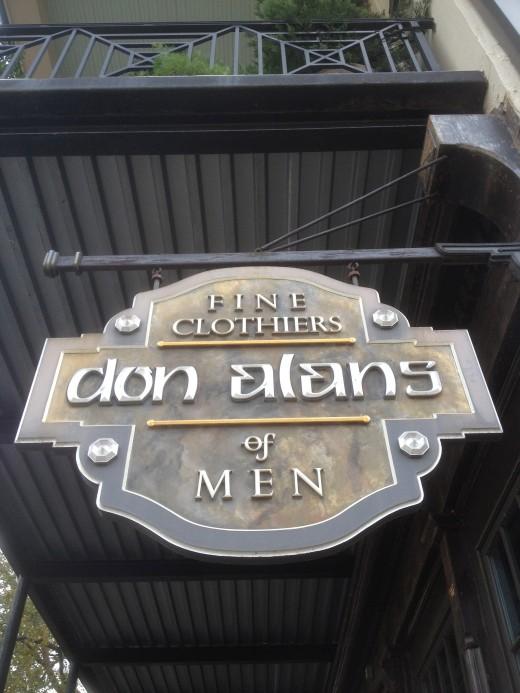 Don Alan's Clothiers