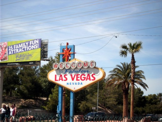 Welcome Sign On South Las Vegas Blvd.