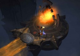 Diablo 3 Shadow Portal to Realm of Shadow. Get Kulle's body, resurrect him and get the black soulstone