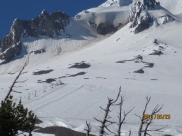 Mt Hood, Oregon. I have skied this, I have Climbed this. Pin a rose on Me!