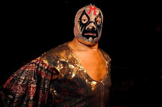 The legendary luchador Mil Mascaras