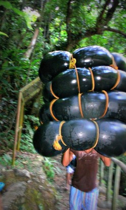 for water tubing activity
