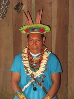 Shamanic healing In The Amazon Jungle