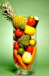 Beautiful, flavorful fruits and vegetables create low calorie, nutritionally dense juices.