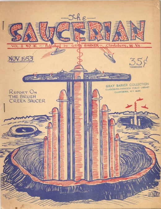 Gray Barker's magazine the Saucerian