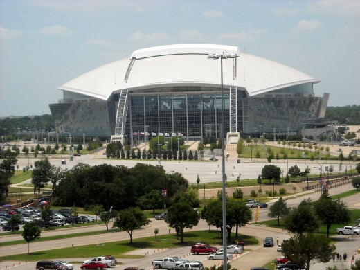 The Cowboy's Stadium: Jerry's House