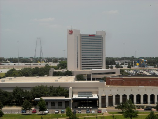 The Sheraton  Hotel and The Arlington Convention Center