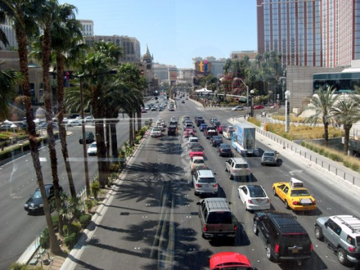 The Las Vegas Strip During the Day
