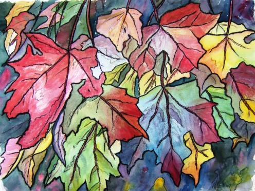 Autumn Colours by Nicolette Goff