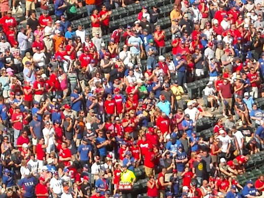Fans on Their Feet in the 13th and Final Inning