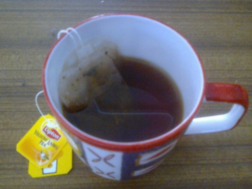 Tea bags - use at its best.