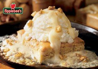 Applebee's Maple Butter Blondie..image via Applebee's