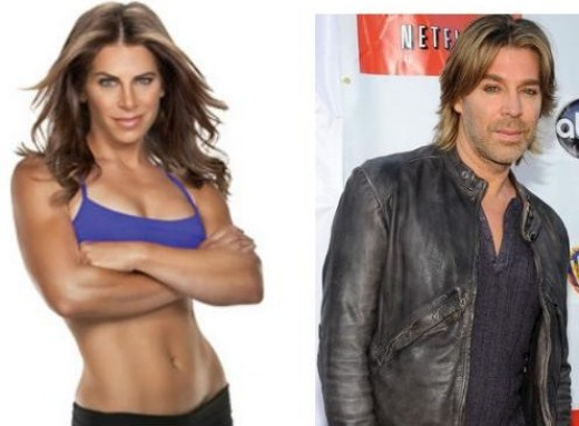 Celebrity Look Alikes Jillian Michaels and Chaz Dean