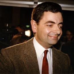 """Rowan Atkinson or """"Mr Bean"""""""