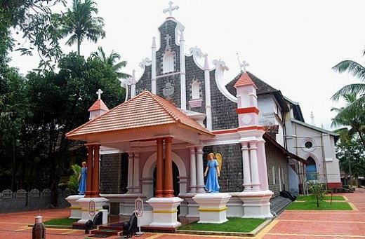 St. Thomas Church, built in  AD 52 Kochi (Ernakulam)