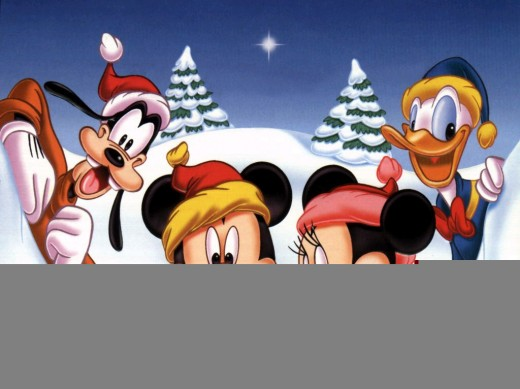 mickey wallpapers. Mickey mouse Christmas