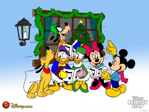 mickey mouse wallpapers. Mickey mouse Christmas