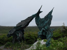 Entrance to L'Anse aux Meadows National Historic Site