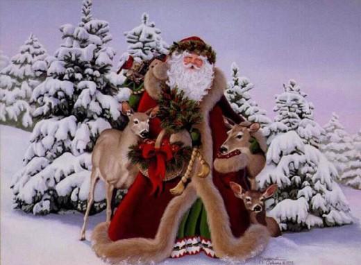 Free Santa Claus Wallpaper