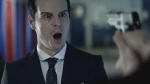 Jimmy Moriarty from Sherlock (Andrew Scott)
