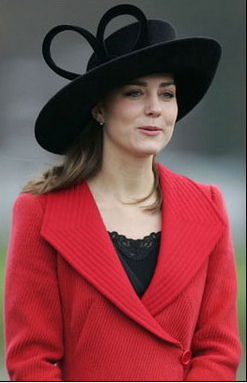 TALK ABOUT PRIM AND PROPER. KATE CAN LOOK THE PART SHE WANTS AT ANYTIME.