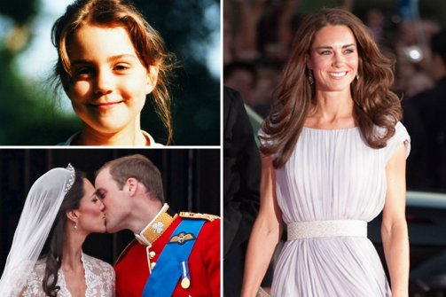 "PRINCESS KATE AND HUSBAND, ""SUPER-LUCKY,"" PRINCE WILLIAM."
