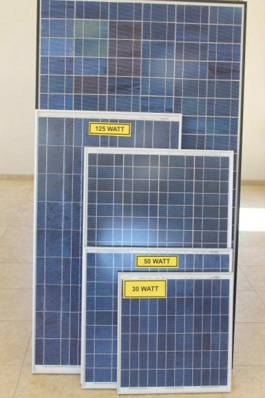 Terra Solar Panels from Cottage Craft Works.com