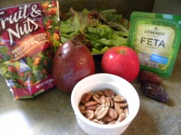 Ingredients for Sweet Salad