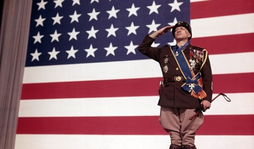 Geoge C. Scott as Patton