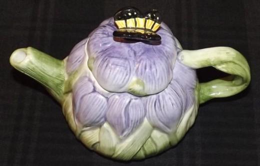 Vintage Peggy Jo Ackley Teapot