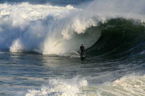 Annoyed waves