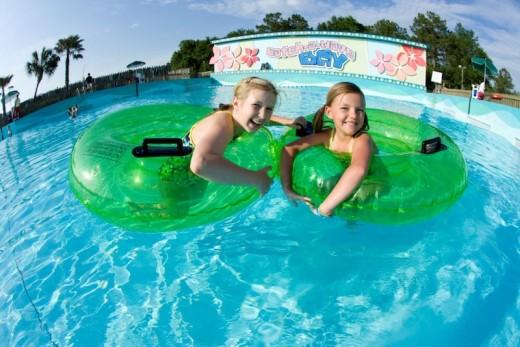 Splash island water park at wild adventures, GA