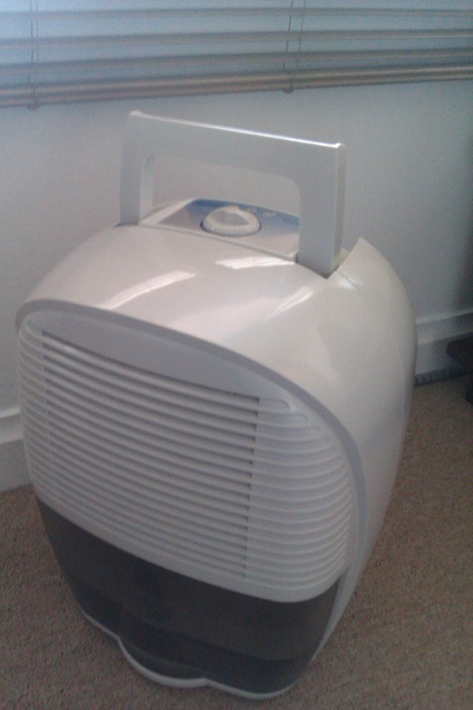Dehumidifier carrying handle
