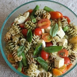 Fusion Cooking - Chinese Inspired Pasta Salad