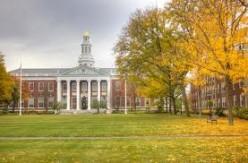 The Harvard Yard.
