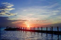 Sunset In Key Largo.