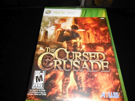 My copy of The Cursed Crusade.