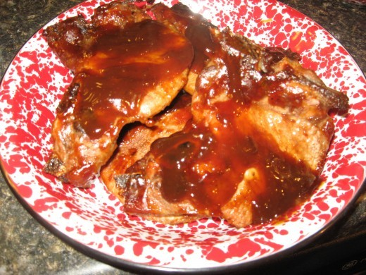 BBQ pork chops recipes are some of our faves.