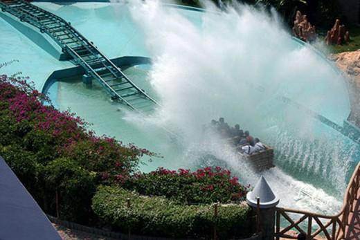 Wonderla water ride