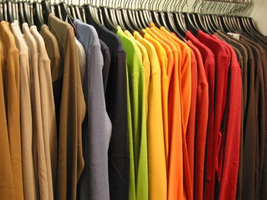 On the other hand, in order to make wool or linen useful, these initial products are made into clothing that can be worn. This takes additional labor and increase the value per item over that of plain wool or linen fresh from the loom.