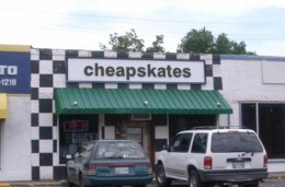 A REAL shop in Memphis, TN that sells skate boards.