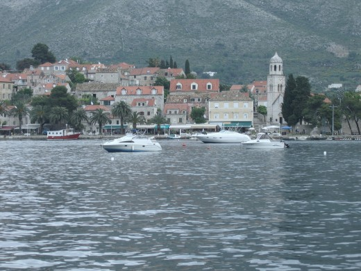Looking Across To Cavtat.