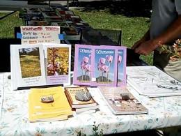 Native Plant Society Book Table