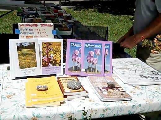 Native Plant Society Book Table