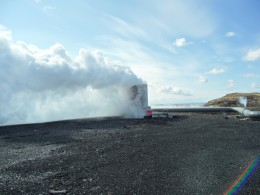 Geothermal Bore not yey capped